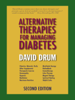 Alternative Therapies for Managing Diabetes