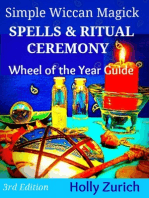 Simple Wiccan Magick Spells & Ritual Ceremony