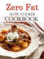 Zero Fat Slow Cooker Cookbook