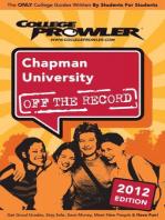 Chapman University 2012