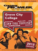 Grove City College 2012