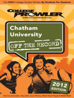 Chatham University 2012