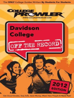 Davidson College 2012