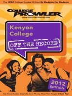 Kenyon College 2012
