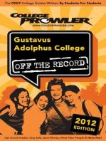 Gustavus Adolphus College 2012