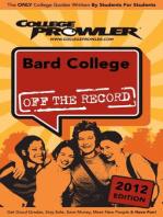 Bard College 2012