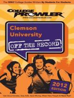 Clemson University 2012