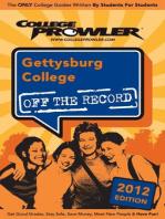 Gettysburg College 2012
