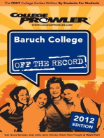 Baruch College 2012