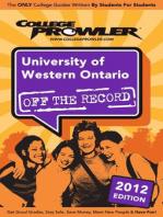 University of Western Ontario 2012