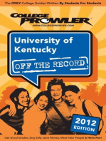 University of Kentucky 2012