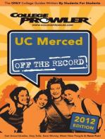 UC Merced 2012