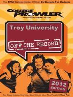 Troy University 2012