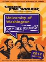 University of Washington 2012