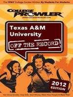 Texas A&M University 2012