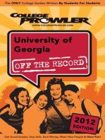 University of Georgia 2012