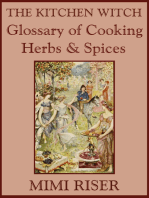 The Kitchen Witch Glossary of Cooking Herbs & Spices