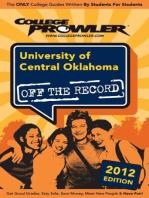 University of Central Oklahoma 2012