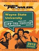 Wayne State University 2012