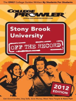 Stony Brook University 2012