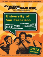 University of San Francisco 2012