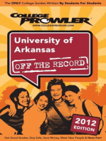 University of Arkansas 2012