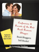 Confessions and Secrets of the Avid Book Reviews Blogger