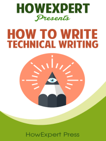 How To Write Technical Writing