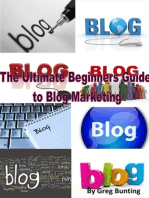 The Ultimate Beginners Guide to Blog Marketing