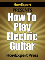 How To Play Electric Guitar