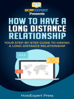 How To Make a Long Distance Relationship Work- Your Step-By-Step Guide To Making a Long Distance Relationship Work
