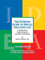 The Everyday Guide to Special Education Law, Second Edition