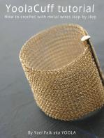 YoolaCuff A crochet tutorial