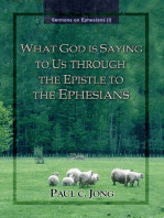 Sermons on Ephesians (I) - What God Is Saying To Us Through The Epstle To The Ephesians