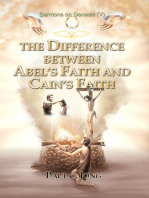 Sermons on Genesis(V) - The Difference between Abel's Faith and Cain's Faith