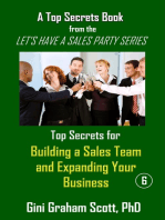 Top Secrets for Building a Sales Team and Expanding Your Business