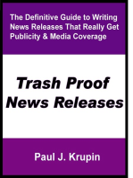 Trash Proof News Releases