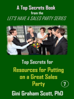 Top Secrets and Resources for Putting on a Great Sales Party