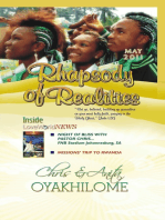 Rhapsody of Realities May 2011 Edition