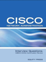Cisco Network Administration Interview Questions