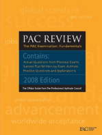 Professional Aptitude Council Official Guide: PAC Exam Review: PAC IT Baseline Exam Review: Professional Aptitude Council IT Baseline Exam Review
