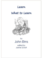 Learn What to Learn