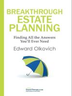 Breakthrough Estate Planning