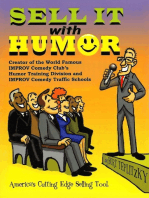 Sell It With Humor (America's Cutting Edge Sales Tool)