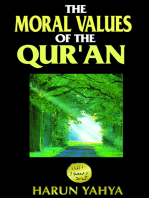 The Moral Values of the Qur'an