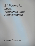 21 Poems for Love, Weddings, and Anniversaries