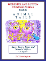 Animal Tails ~ Bugs, Bears, Birds and Celestial Objects (Book 15)