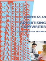 Career as an Advertising Copywriter