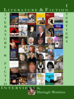 Literature & Fiction Interviews Volume I