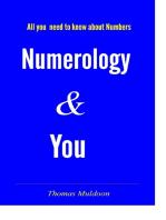 Numerology & You